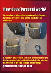 tyreseal  at tx carsh Craughwell Galway