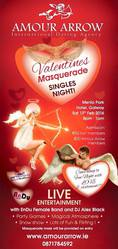 Valentine's night singles party