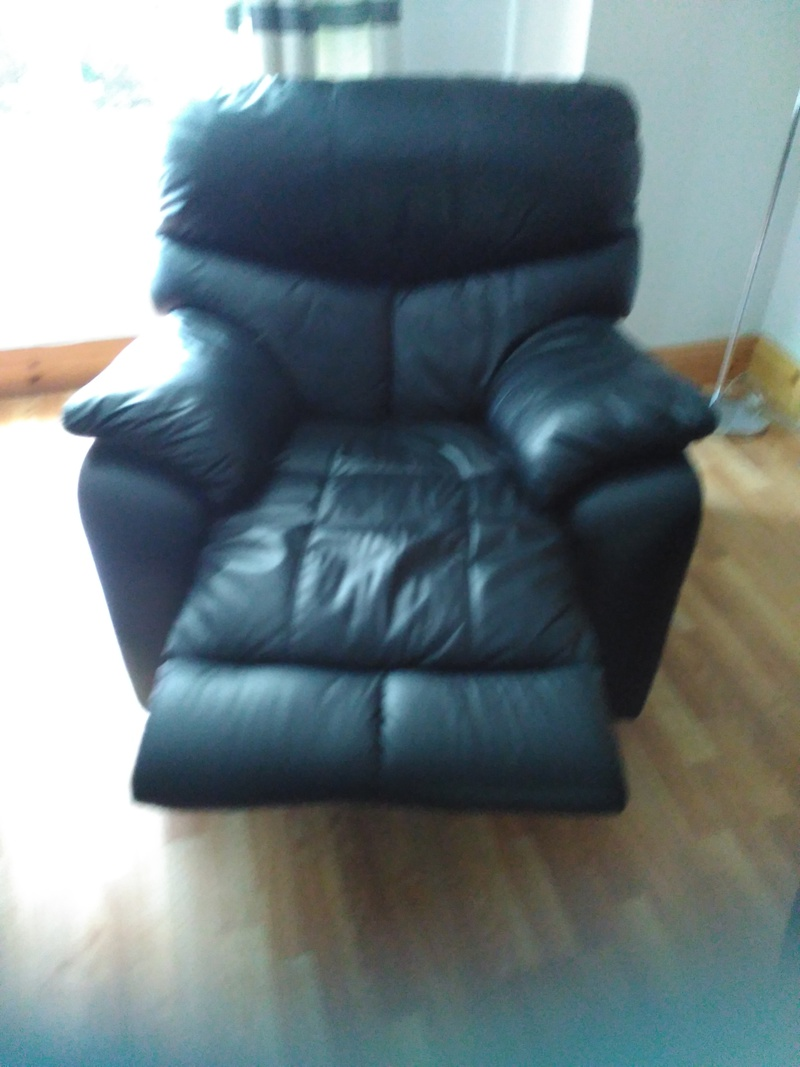 black leather 3 piece suite galway furniture for sale galway
